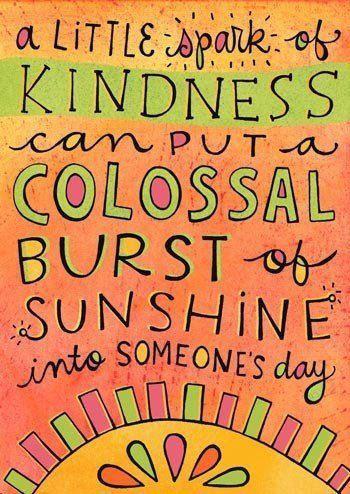 sun kindness