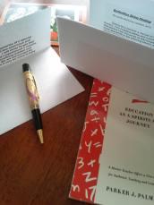 Handmade Pen & Beautiful Poem