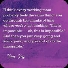 working mom quote